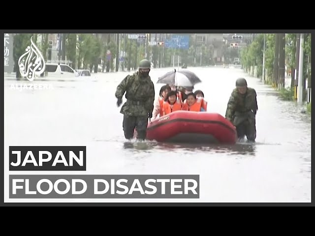'Time running out': Japan keeps searching for flooding survivors
