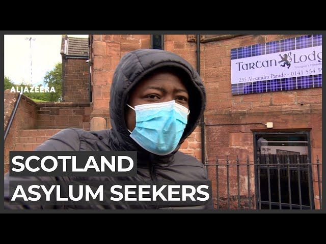 Scotland housing conditions 'drive asylum seekers crazy'