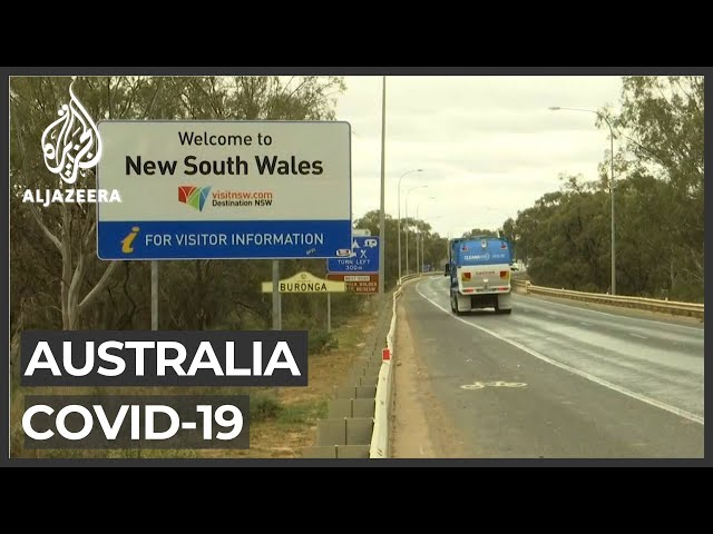 Border between Australia's most populous states closed
