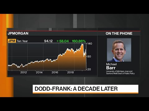 Key Architect of Dodd-Frank Says Financial System Is Not Safe Yet