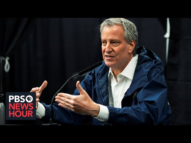 WATCH LIVE: New York Mayor Bill de Blasio gives coronavirus update -- July 6, 2020