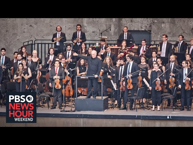 Arab-Israeli orchestra celebrates 20 years of harmony