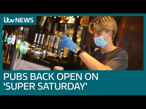 Super Saturday: Pubs reopen as England's lockdown eases on July 4