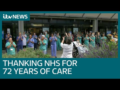 Nation claps for NHS to mark 72 years of healthcare for all