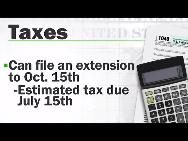 Filing your taxes? Here are some last-minute tips
