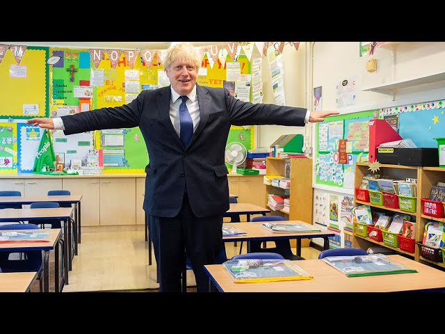 Boris Johnson urges authorities to keep schools open even if local lockdowns are imposed