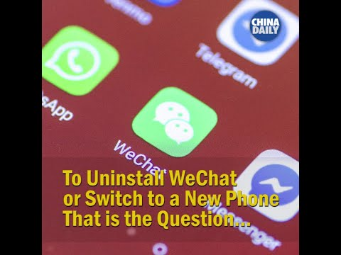 most respondents will choose to switch to a new phone if WeChat is not available on iPhone in China.