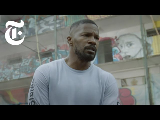 How Jamie Foxx Fights a Man on Fire in 'Project Power' | Anatomy of a Scene