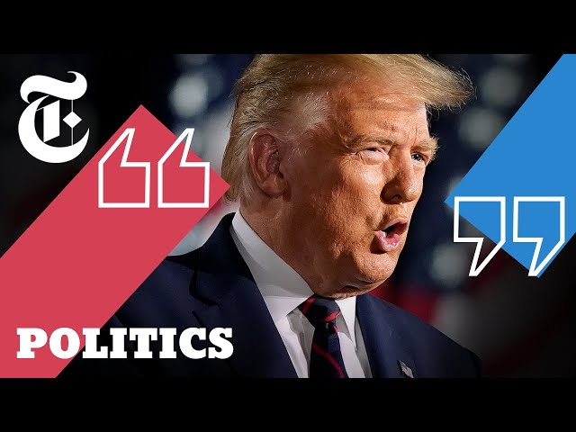 Key Takeaways From Trump's R.N.C. Speech | 2020 Elections