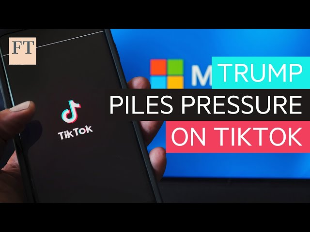 Trump sanctions pile pressure on TikTok-Microsoft deal | DC Diary