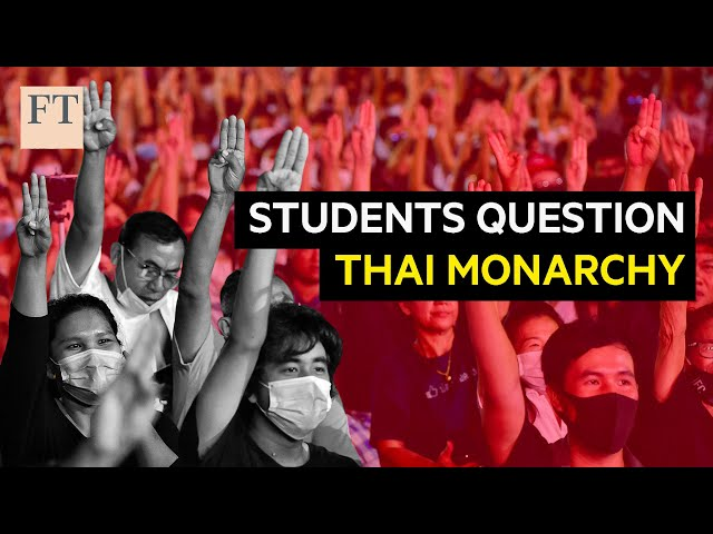 Why young people are protesting in Thailand I FT