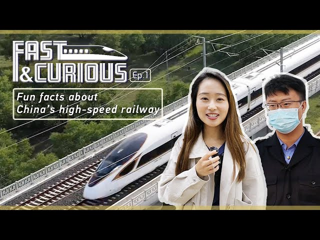 Fast and Curious Ep.1: Fun facts about China's high-speed railway
