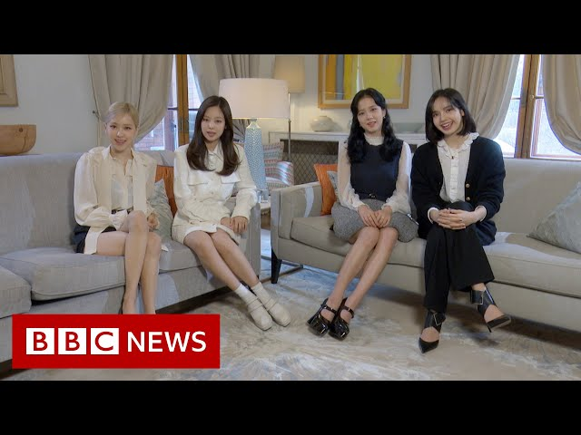 K-pop superstars Blackpink in climate change message