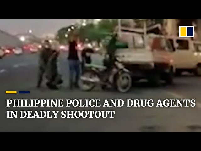 Deadly shootout 'misencounter' involving undercover police and anti-drug agents in Philippines
