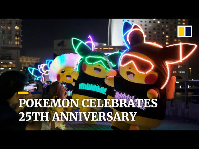Pokemon celebrates 25th anniversary as rare cards fetch six figures amid pandemic