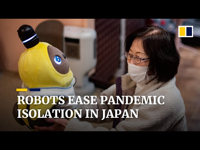 Japan embraces robot 'pets' as companions to ease pandemic isolation
