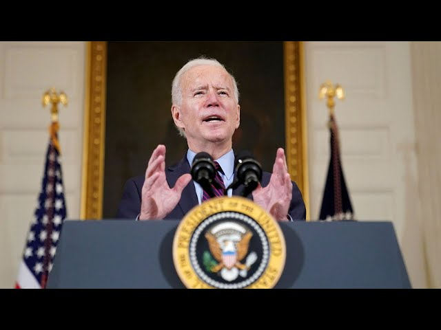 Live: Biden Delivers Remarks On The American Rescue Plan | NBC News