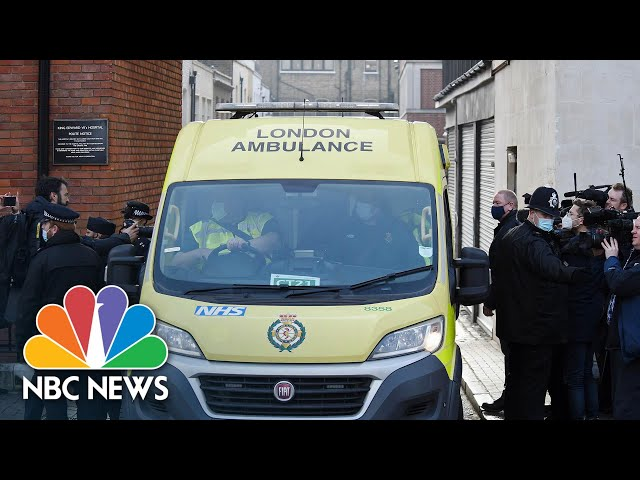 Queen Elizabeth II's Husband, Prince Philip, Transfers To Another Hospital | NBC News NOW
