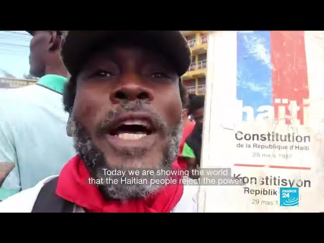 Haiti protests: Thousands take to the streets to denounce insecurity, president