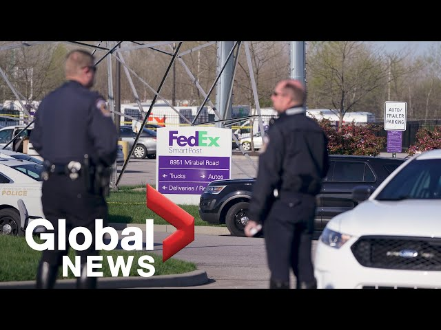 Indianapolis shooting: Authorities provide update on mass casualty incident at FedEx facility | LIVE
