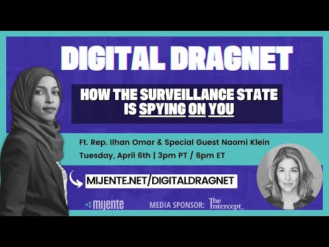 (LIVESTREAM) Mijente's Digital Dragnet: How the Surveillance State is Spying on You