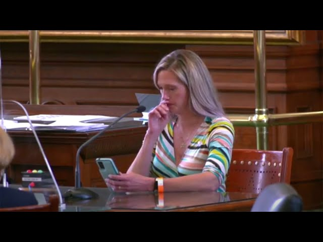 Mother gives powerful speech against Texas bill that would classify supporting transgender childr…