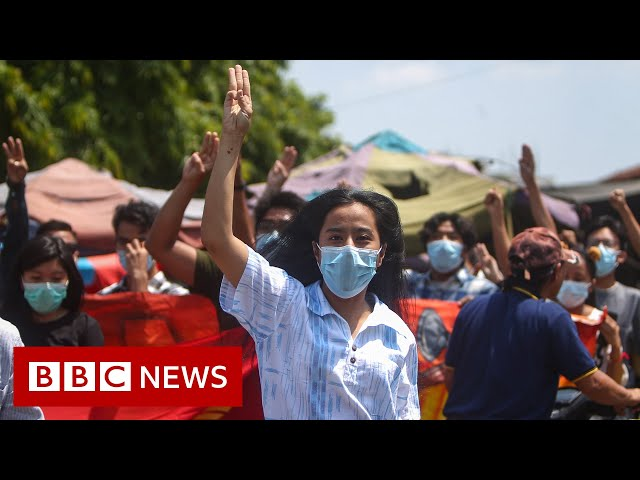 100 days on from the coup in Myanmar
