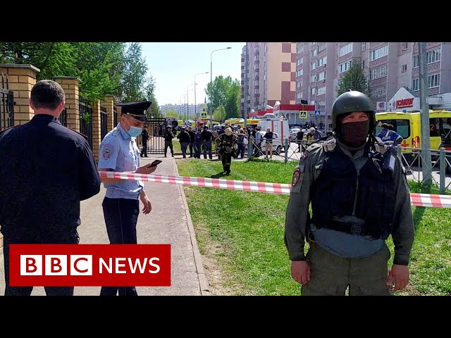 Children killed in shooting at Russian school