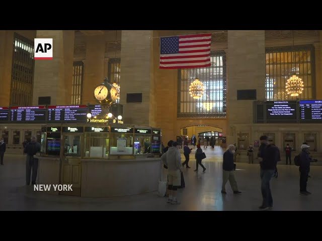 Vaccines come to New York's Grand Central Terminal