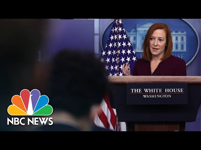 White House Holds Press Briefing: May 12 | NBC News
