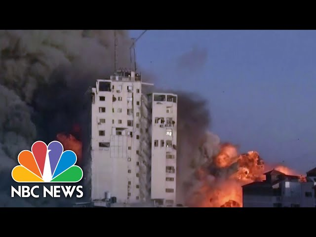 Dozens Killed In Escalating Israel-Hamas Violence