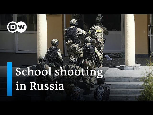 At least 8 people killed in school shooting in Russia