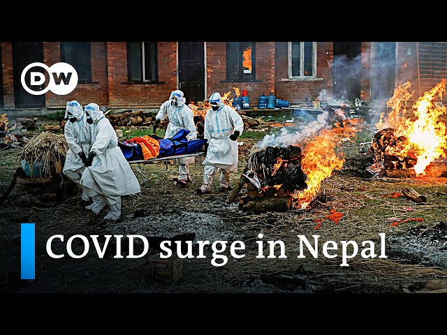 Skyrocketing COVID-19 deaths and infections in Nepal